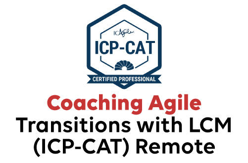 Coaching Agile Transitions with LCM (ICP-CAT) Remote